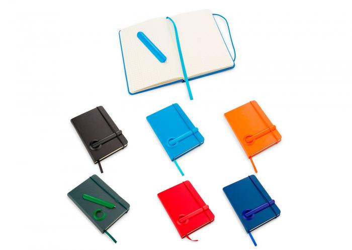 Libreta + Boligrafo C Shape Jr OF0485